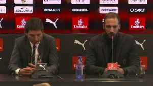 Higuain says he hopes to repay AC Milan with faith they put in him [Video]