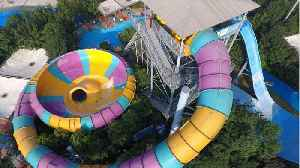 Man Arrested For Throwing Child Off 31 Foot Tall Water Slide [Video]
