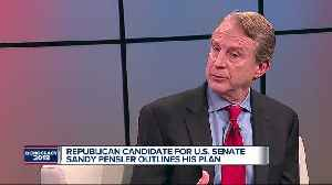 One-on-one with Republican senatorial candidate Sandy Pensler [Video]