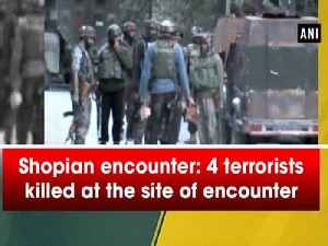 Shopian encounter: Fresh firing erupts at the site of encounter [Video]