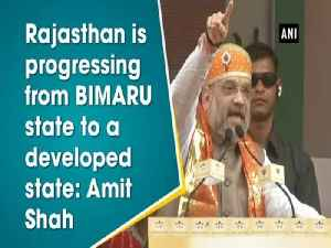 Rajasthan is progressing from BIMARU state to a developed state: Amit Shah [Video]
