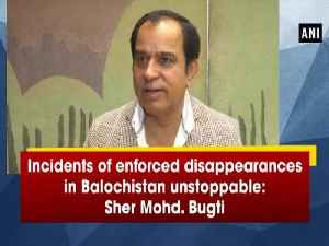 Incidents of enforced disappearances in Balochistan unstoppable: Sher Mohd. Bugti [Video]