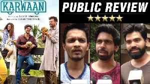 Karwaan Public Review | First Day First Show | Irrfan Khan, Dulquer Salmaan, Mithila Parkar [Video]
