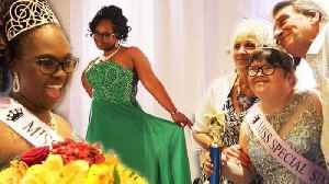 Girls With Special Needs Strut Their Stuff at New York Pageant [Video]
