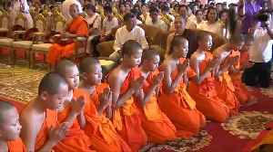 News video: Thai cave boys leave stint as monks