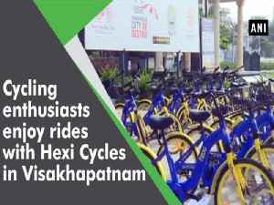 Cycling enthusiasts enjoy rides with Hexi Cycles in Visakhapatnam [Video]