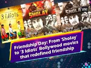 Friendship Day: From 'Sholay' to '3 Idiots' Bollywood movies that redefined friendship [Video]