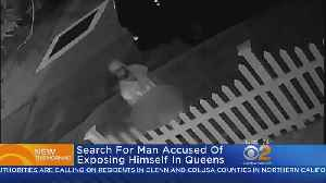 Search For Man Accused Of Exposing Himself In Queens [Video]