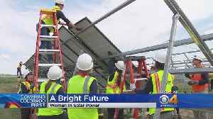 Nonprofit Helps Attract More Women To Solar Energy Field [Video]