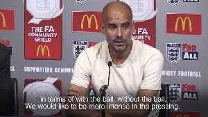 Pep Guardiola proud of players after Community Shield win [Video]