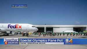 Teams Pull Planes To Raise Money For Special Olympics Colorado [Video]