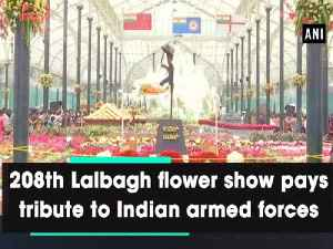 208th Lalbagh flower show pays tribute to Indian armed forces [Video]