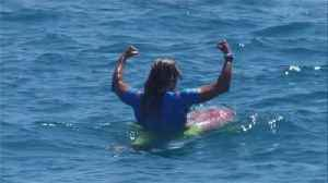 Surfer Conlogue back from injury to win US Open [Video]