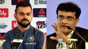 News video: India Vs England: Sourav Ganguly's advice for Virat Kohli after 1st test loss | वनइंडि&#x92F