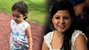 MS Dhoni's Daughter Ziva Dhoni instructs Sakshi Dhoni to Follow her, Watch Cute Video वनइंडि [Video]