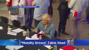 Cast Of 'Murphy Brown' Has First Table Read [Video]