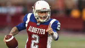 Nick Wright reacts to Johnny Manziel throwing four interceptions in his CFL starting debut [Video]