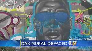 News video: Mural Defacing Comes After Dak's National Anthem Protest Comments