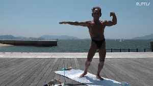 Never too late to hit the gym - Meet the 82 y.o. Hiroshima bodybuilder more shredded than you [Video]