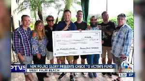 New Found Glory presents check to Stoneman Douglas Victims' Fund [Video]
