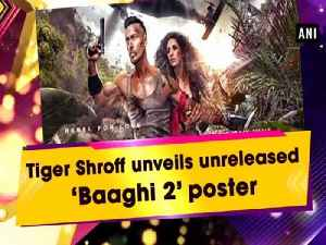 Tiger Shroff unveils unreleased 'Baaghi 2' poster [Video]