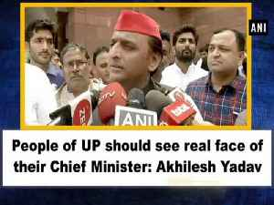 People of UP should see real face of their Chief Minister: Akhilesh Yadav [Video]