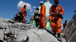 WATCH - Rescue efforts underway to save people trapped under wreckage of Indonesian earthquake [Video]