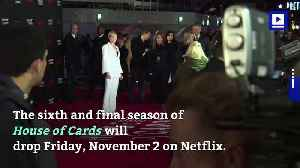 Final Season Of Netflix's 'House of Cards' Gets Premiere Date [Video]