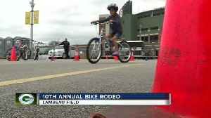 Packers & Bellin team up for annual bike rodeo [Video]