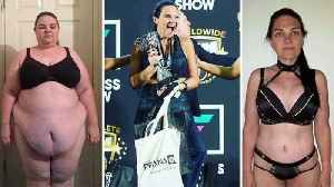 Obese wife warned she was on a 'fast track to early death' loses 14 stone and wins body transformation championship [Video]