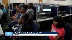Local grade school students learn about TV production on MATC campus [Video]