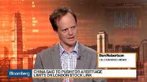 China Is Said to Push for Arbitrage Cap on Shanghai-London Stock Link [Video]