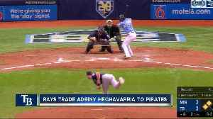 Tampa Bay Rays trade shortstop Adeiny Hechavarria to Pittsburgh Pirates for minor league pitcher [Video]