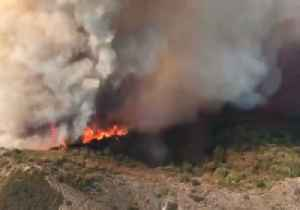 News video: Holy Fire Burns Through Thousands of Acres in California