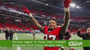 Falcons Agree To 3-Year Extension With Safety Ricardo Allen [Video]