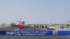 United Jet Diverted To JFK Due To Smoke Incident [Video]