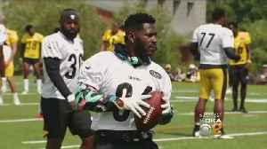 Steelers WR Antonio Brown Returns To Camp After Injury [Video]