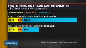 U.S.-China Spat Could Escalate Well Beyond Tariffs, Stratfor's Goujon Says [Video]