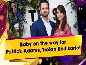 Baby on the way for Patrick Adams, Troian Bellisario! [Video]