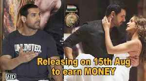 John Abraham: Releasing 'Satyameva Jayate' on holiday to earn MONEY [Video]