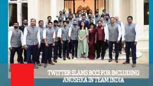 Twitter Slams Bcci For Including Anushka In Team India [Video]