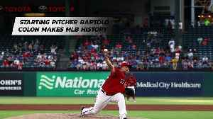 Starting Pitcher Bartolo Colon Makes MLB History [Video]