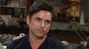 John Stamos Introduces Son Billy to His 'Fuller House' Co-Stars! (Exclusive) [Video]