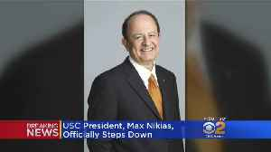 USC President C.L. Max Nikias Officially Steps Down [Video]
