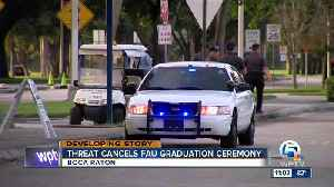 FAU commencement ceremony canceled over 'credible threat' [Video]