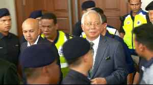Ex-Malaysian PM granted bail on money-laundering charges [Video]