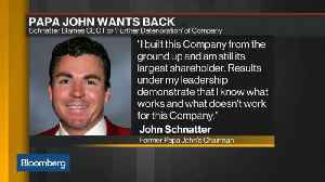 Papa John's Founder Targets CEO After Earnings Miss [Video]