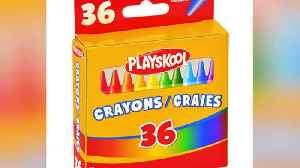 Asbestos Found in Playskool Crayons, Advocacy Group Says [Video]