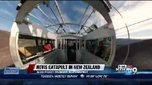The Nevis Catapult is New Zealand's human slingshot thrill ride [Video]