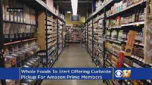 Amazon Brings Curbside Grocery Pickup To Whole Foods [Video]